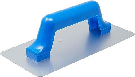 Desempenadeira de Aço Lisa Cabo de PVC, Tigre 62114000, Branco, 25,7cm x 12cm x 8cm