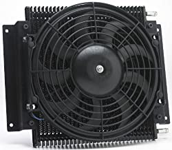 Hayden 526 transmission cooler with Fan - Best transmission cooler for drag racing - Transmission Cooler Guide
