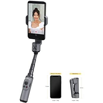 time Off face Tracking Android auto Tracking YTBLF 3-axis Handheld Video stabilizer for iPhone XR//XS MAX//X//8//8P