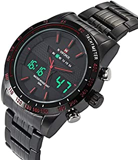 Naviforce Water Resistant Digital & Analog Watch for Men