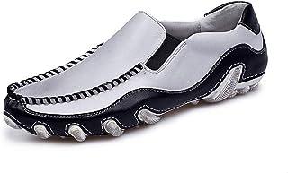 Mocassins à boucle élégants pour hommes Mocassins d'entraînement for les hommes Robe Chaussures Hommes Chaussures bateau S...