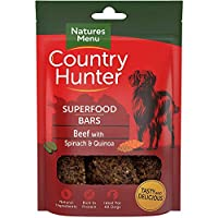 Complemented with extra fruits and vegetables Nutritious air-dried superfood bars Perfect healthy snack Made with a high real meat recipe Re-sealable keep fresh pack