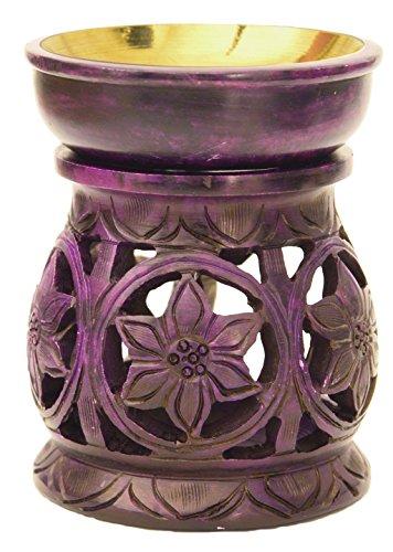 Alterras - Duftlampe: Sternblüte Purple (H: 11cm, Ø: 9cm)