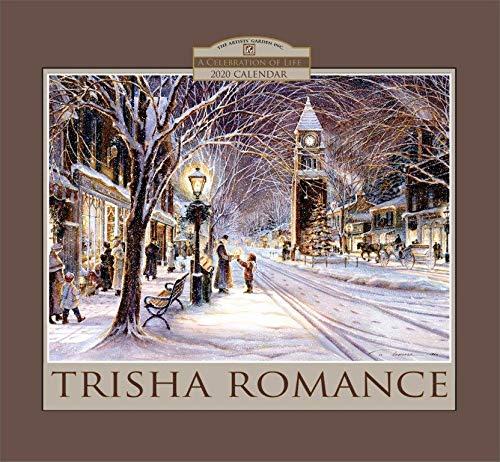 TRISHA ROMANCE 2020 TWELVE MONTH WALL CALENDAR