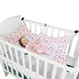 Baby Hammock for Crib Mimics Womb Bassinet Detachable Portable Sleeping Bed Newborn Infant Baby Folding Crib...