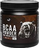 BCAA en polvo |40 porciones de aminoácidos ramificados | Proporción óptima de leucina, isoleucina y valina 2:1:1 | Nutrición deportiva vegana