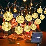 100LED Solar String Lights Outdoor, 10M/33Ft Garden Fairy Lights Solar Powered Waterproof 8