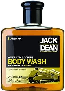 Jack Dean American Bay Rum Body Wash (250 ml) by Jack Dean