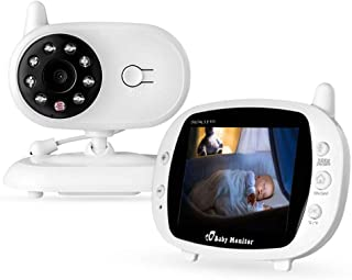 لاسلكي مراقبة اخرى 3.5 بوصة بتقنية LCD كاميرا فيديو أغنية الطفل مراقب شبكة الإنترنت (فيديو) موسيقى مزود بمريلة