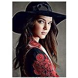 Lomoko Kardashian Kendall Jenner Top Model Leinwand