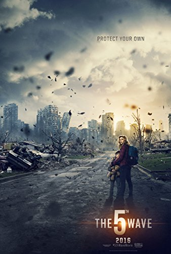 The 5th Wave - Movie Poster (2016), Size 24 x 36 Inches, Glossy Photo Paper (Thick 8mil) - Chloe Grace Moretz, Nick Robinson
