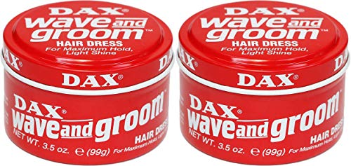 DAX Wachs Wave and Groom 2er Set