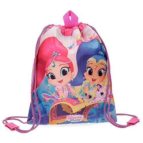 Shimmer and Shine Sacca merenda Shiny