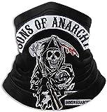 Sons of Anarchy - Bandanas unisex para la cabeza, bufanda y cuello