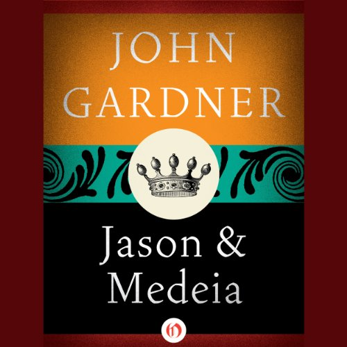 Jason and Medeia audiobook cover art