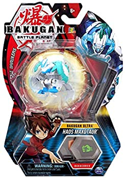 Bakugan Ultra Haos Maxotaur 3-inch Tall Collectible Transforming Creature for Ages 6 and Up