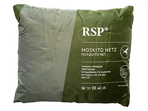 RSP Mosquitera Box XXL Extragrande, Rectangular con Entrada y sin Entrada, protección antimosquitos, protección contra Insectos, Grün mit Eingang