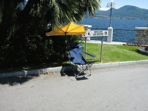 Sol Protección Stabielo–Deportes de ocio de exterior de relax Juego de–Modelo. Lago...