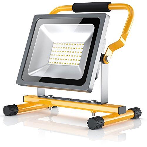 Brandson - 30W LED Proyector de construcción para exteriores - Luz Foco...