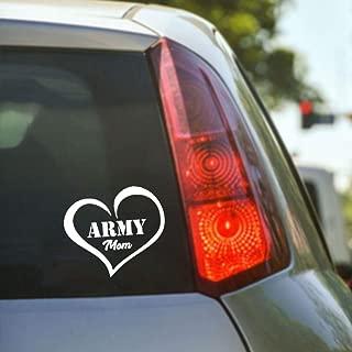 Creative Army Heart Car Stickers, For Diy Styling Funny Auto Products, For Automotive And Motorcycle Helmet Sticker, Calcomanías para ventanillas de vehículos 13X15Cm