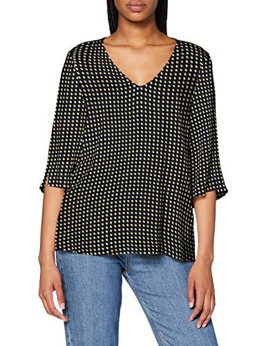 ESPRIT Damen 070EE1F311 Bluse, 403/NAVY 4, 40