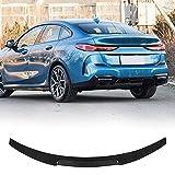 MCARCAR KIT Real Carbon Fiber Car Trunk Rear Spoiler Fits for BMW F44 2 Series 4 Door GC Gran Coupe 2020-2021 Rear Boot Lid Spoiler Wing Lip