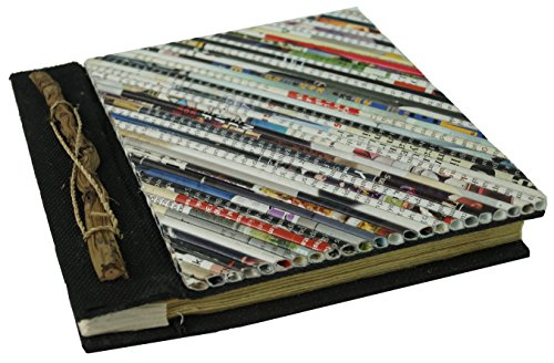 Guru-Shop Fotoalbum Krant, Meerkleurig, 18x18 cm, Fotoalbums