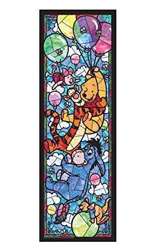 456ピース ジグソーパズル くまのプーさん ステンドグラス ぎゅっとシリーズ 【ステンドアート】(18.5x55.5cm)