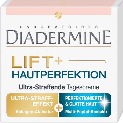 Diadermine Lift+ Hautperfektion Ultra-Straffende Tagescreme, 1er Pack (1 x 50 ml)