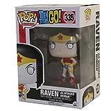 Funko 10080–Pop Vinyl Teen Titans Go Raven as Wonder Woman Figure 335Exclusive, 9cm