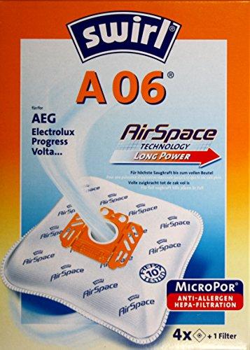 Zisaline - Die Staubsaugerbeutel passend für AEG-A06, SWIRL