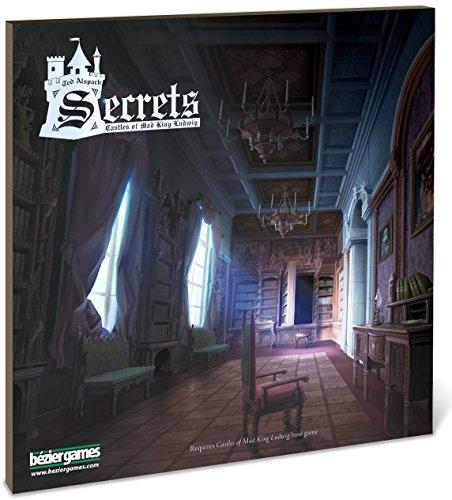 Bezier Games BEZ00015 - Brettspiele, Castles of Mad King Ludwig Secrets