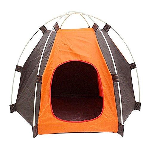 NALEDI Tienda de campaña para mascotas portátil, plegable, antiultravioleta, impermeable, duradera, para perros, gatos, cama, para verano, interiores, exteriores, viajes, camping