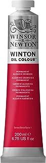 Winsor & Newton Winton Oil Colour Paint, 200ml tube, Permanent Alizarin Crimson