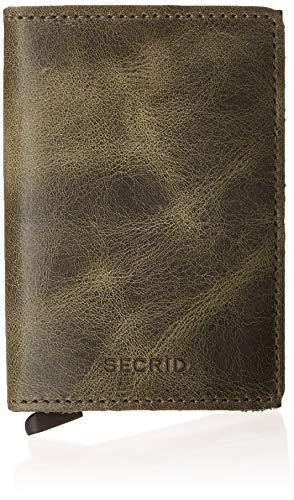 Secrid Kartenetui für bis zu 12 Karten, echtes Leder, schokoladenbraun