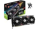 Newest MSI Gaming GeForce RTX 3070 8GB GDRR6 256-Bit HDMI/DP Tri-Frozr 2 TORX Fan 4.0 Ampere Architecture RGB OC Graphics Card (RTX 3070 Gaming X Trio) +AllyFlex HDMI