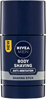 NIVEA MEN Anti-Irritation Body Shaving Stick, 75ml