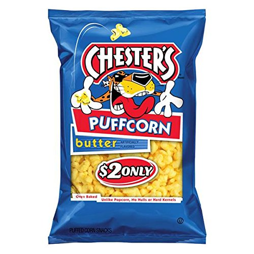 Chester's Puffcorn Butter 3.5oz( 3 Pack )