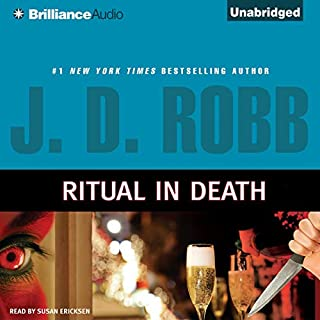 Ritual In Death     In Death, Book 27.5              By:                                                                                                                                 J. D. Robb                               Narrated by:                                                                                                                                 Susan Ericksen                      Length: 2 hrs and 54 mins     1,249 ratings     Overall 4.6
