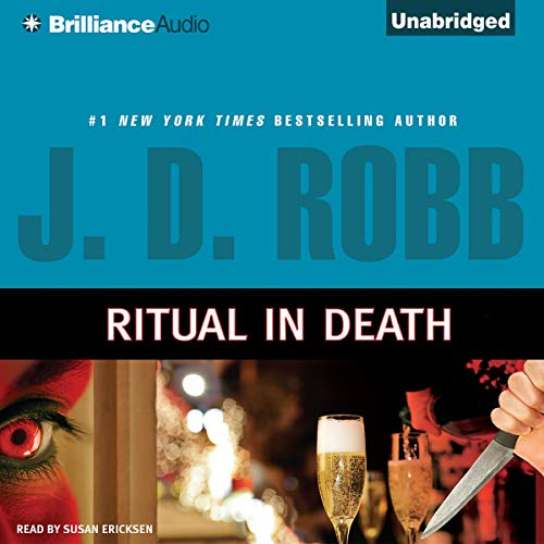 Ritual In Death     In Death, Book 27.5              By:                                                                                                                                 J. D. Robb                               Narrated by:                                                                                                                                 Susan Ericksen                      Length: 2 hrs and 54 mins     20 ratings     Overall 4.7