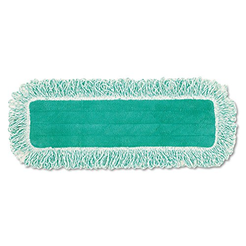 Rubbermaid FGQ41800GR00 Hygen Dust Pad with Fringe, Case of 6