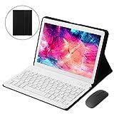 KISEDAR Tablet Android 9.0 10.1 'PC4GB RAM 64GB Tablet Tableta desbloqueada de Cuatro núcleos, Adecuada para teléfono móvil 3G, Ranura para Tarjeta SIM de Doble cámara, Bluetooth, GPS, WiFi