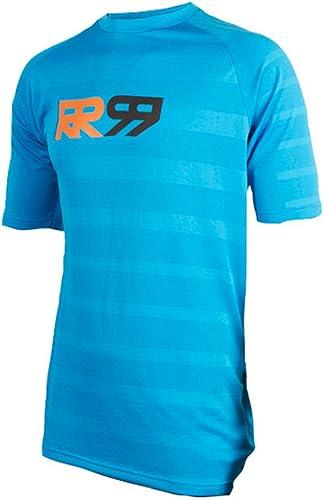 Royal Racing Maillot Impact Manches Courtes-Bleu électrique Homme, FR   L (Taille Fabricant   L)