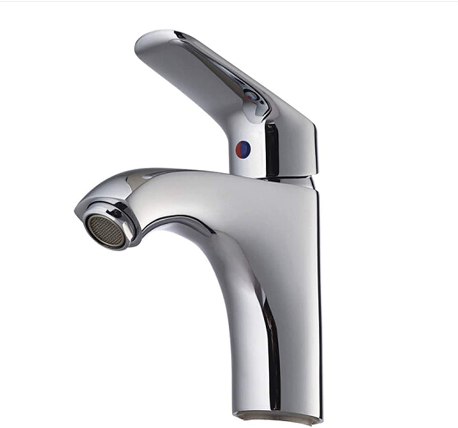 Kitchen Faucet Tapstainless Steelkitchen Faucet Profull Bath Chrome Plating for Faucet Cold and Hot Basin Faucet