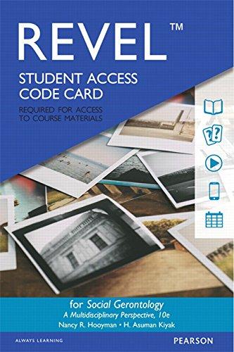 Revel for Social Gerontology: A Multidisciplinary Perspective -- Access Card