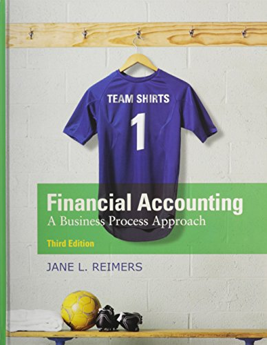 Financial Accounting: A Business Process Approach Plus NEW MyLab Accounting with Pearson eText -- Access Card (3rd Editi