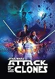 XIANGJING 1000 Piezas Rompecabezas Póster Star Wars Episodio II Puzzle Adultos, Rompecabezas para Niños,Decorativo Juguetes Educativos Juego Regalo