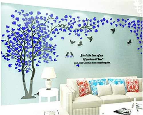 Groot formaat boom acryl decoratieve 3D-muursticker DIY kunst-TV achtergrond muur poster wooncultuur slaapkamer woonkamer muursticker muursticker