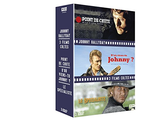 Johnny Hallyday - 3 films cultes : Point de chute + D'où viens-tu Johnny + Le Spécialiste