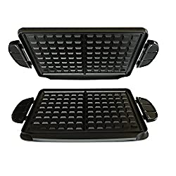 Waffle Plates - click to see on Amazon